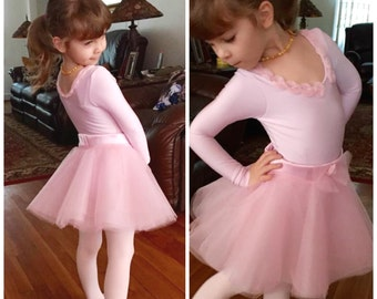 Girls Easy Twirly Skirt   PDF Sewing Pattern   Ages 1-12   Beginners Sewing Pattern   Party Skirt   Dancing Skirt   Ballet Skirt