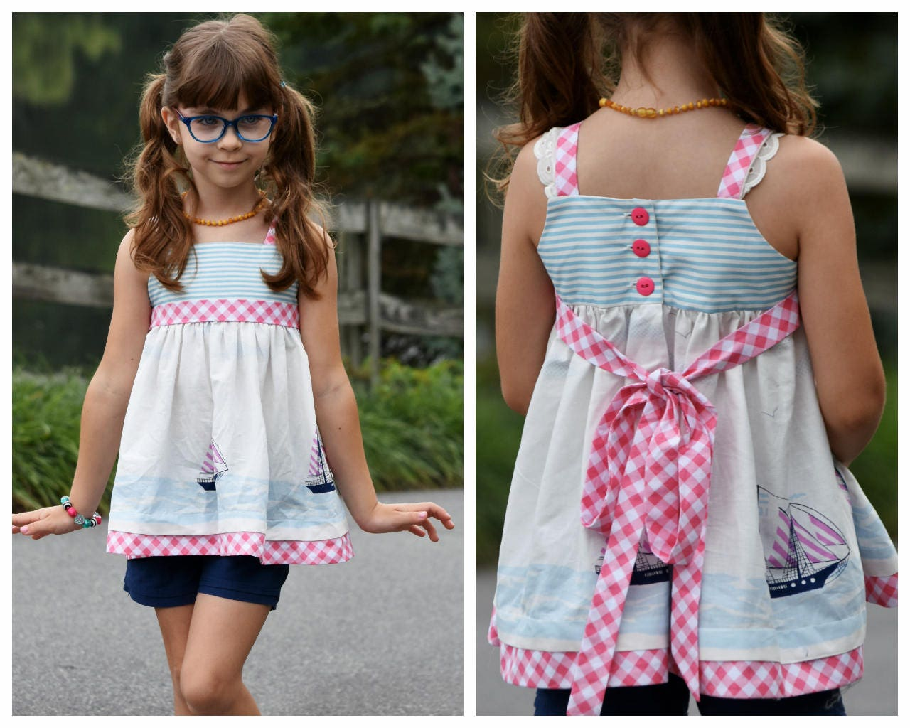 Schnittmuster für ein Sommerkleid Natalie Digitales