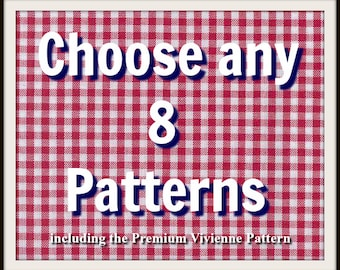 Pick any 8 patterns from Frocks & Frolics and SAVE!
