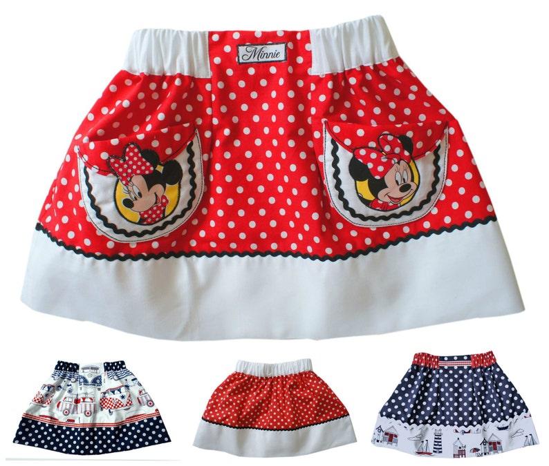 Girls Elasticated Waistband Skirt PDF Sewing Pattern  Easy image 0