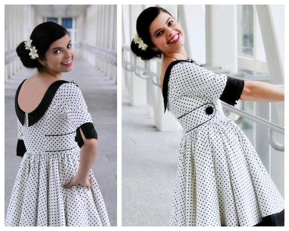 Schnittmuster für ein Teen Kleid / Digitales Schnittmuster E   Etsy