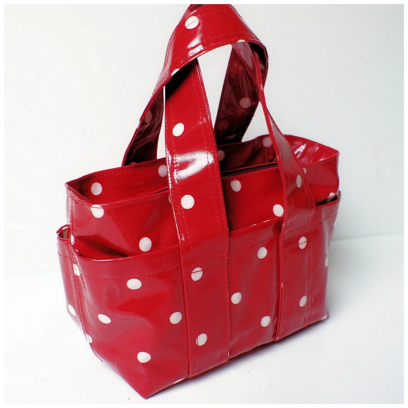 Box Bag  Everyday Hand Bag  PDF Sewing Pattern  holdall  image 0