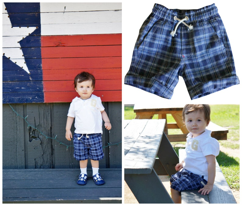 Boys Shorts PDF Sewing Pattern  Oscar  Versatile  Easy  image 0