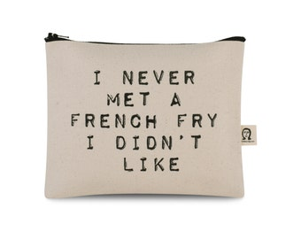 french fry pouch