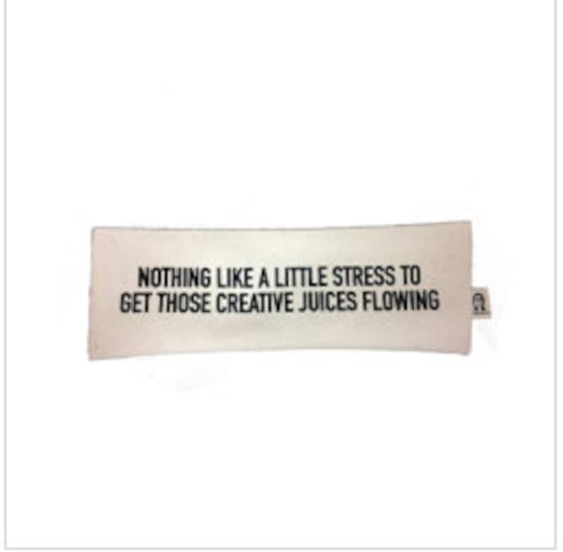 stress gets my creative juices flowing pencil pouch