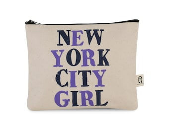 new york city girl pouch