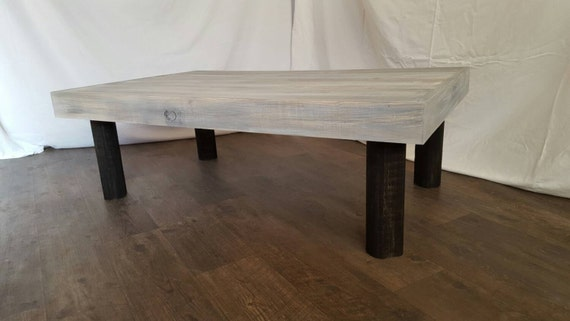 The Christine Grey Weathered Coffee Table
