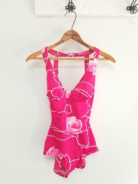 1960s Rose Marie Reid Swim Suit  -vtg 12