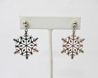 bb5a8dad9 Retro Dangle Snowflake Earrings Item K # 312