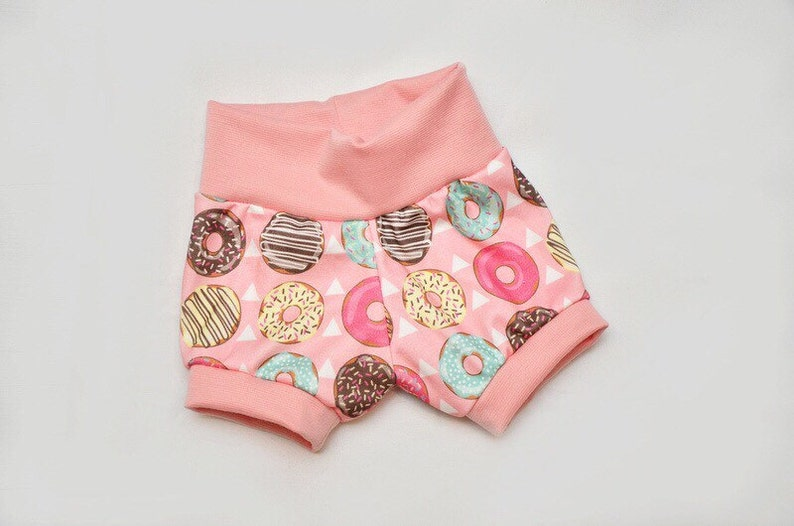 Organic Cotton Donuts and Teepees Infant/Toddler Mini Shorts image 0