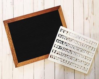 Felt Board/Custom/Home Decor/Gift for Women/Letterboard/DIY Board/Kitchen Art/Mothers Day Gift/Gift for Mom/Fun art/Fun Gifts/Friend Gifts