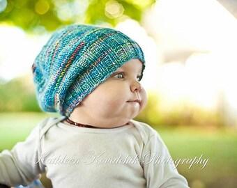 PDF PATTERN Darling Little Slouchy hat
