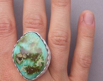 Pilot mountain turquoise ring in your size