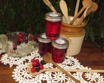 Texas State Fair Blue Ribbon Winner Cranberry Pomegranate Jelly