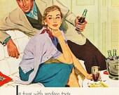 1953 Pepsi Cola Meadow Gold Ice Cream Queen Elizabeth Coronation Vanilla Advertisements - Soda Pop Parlor Beverage Drink Retro Print Decor