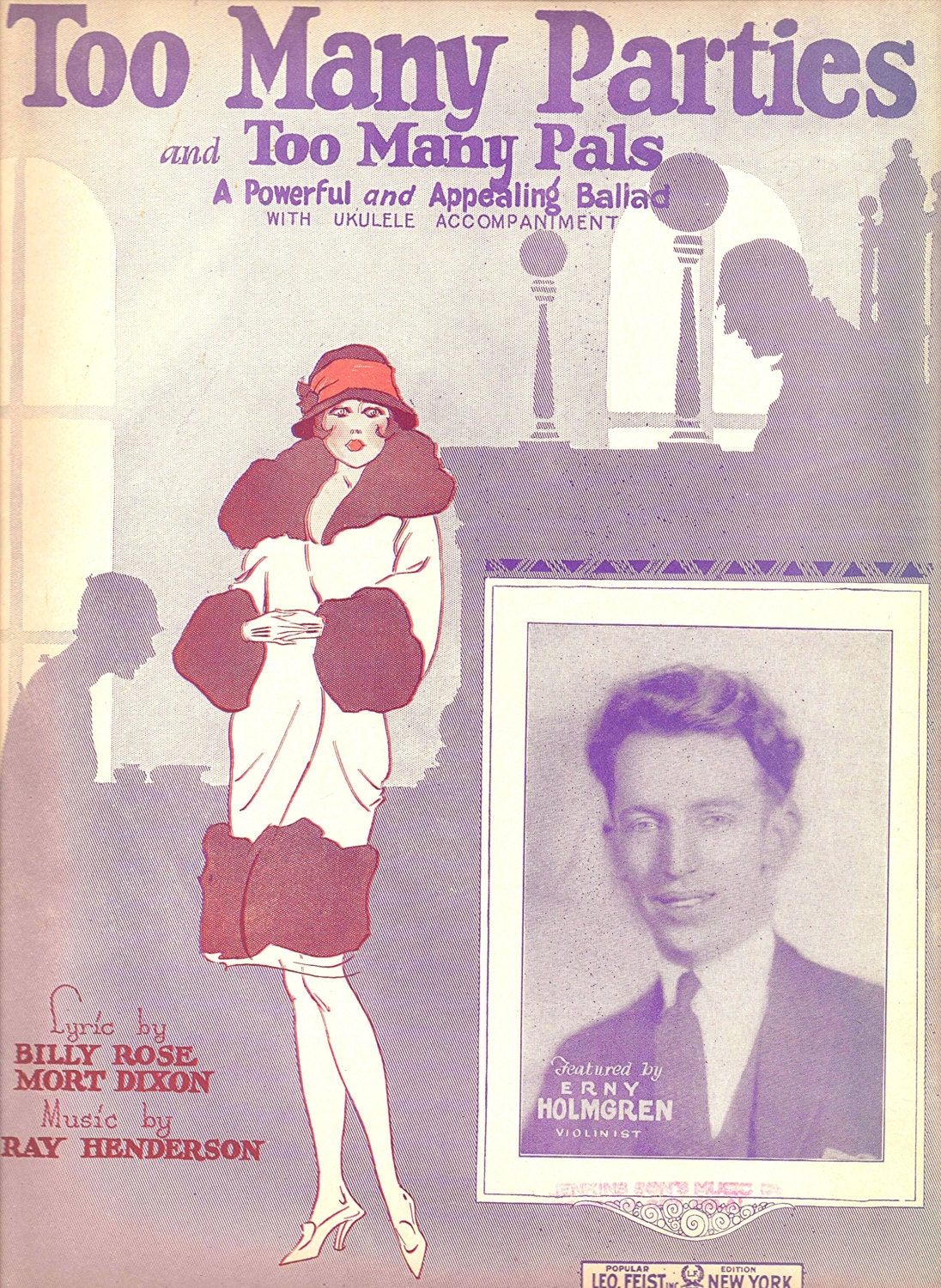 1925 Flapper Sheet Music -