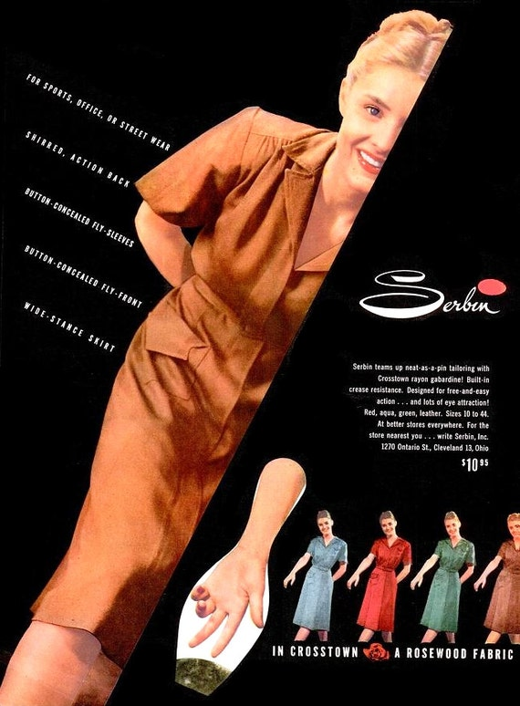 ab3df0a39cc 1947 Serbin Fashion and Quali Craft Shoes Advertisements WWII