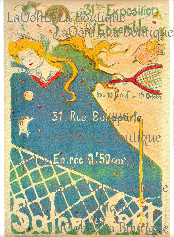 1897 Salon des Cent P.H. Lubot Art Nouveau Paris Vintage | Etsy