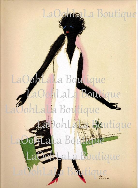 African American Black Jazz Express Night Club Wall Picture 8x10 Art Print