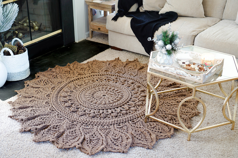 Momentous Occasion Crochet Rug Doily Pattern Pdf Etsy
