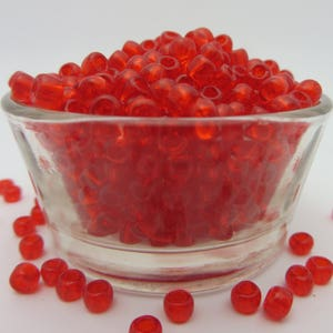 TOHO Seed Beads 300-325 Beads  one Full Ounce ! 60 Matte Transparent AQUA BLUE or  28 gm  Great Color!