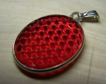 RED TAIL LIGHT Lens Pendant