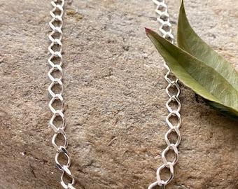 Sterling Silver Link Anklet