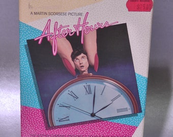 after hours movie on vhs 1985