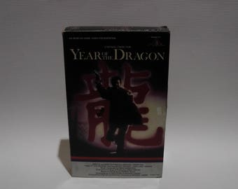 year of the dragon on vhs tape from 1986