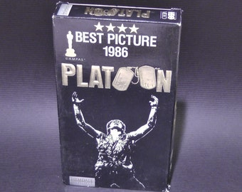 platoon on vhs from 1986