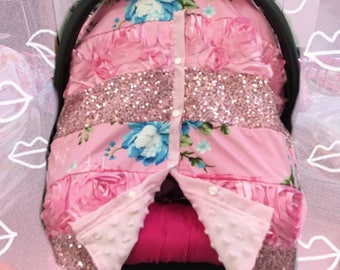 45off Baby Car Seat Canopy Infant Cover Blanket Fit All Girl
