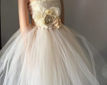 30off Bride Flower Girl TuTu Dress Baby Perfect For Pictures Available 24 M