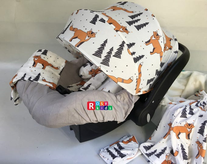Car Seat Cover Rosy Kids