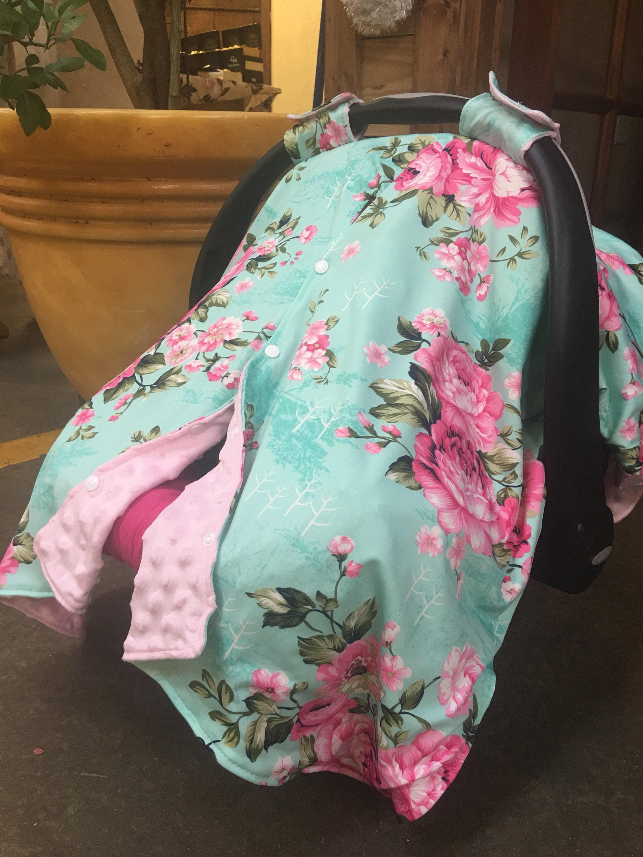 Baby Car Seat Canopy Baby Infant Car Seat Canopy Cover Blanket Fit