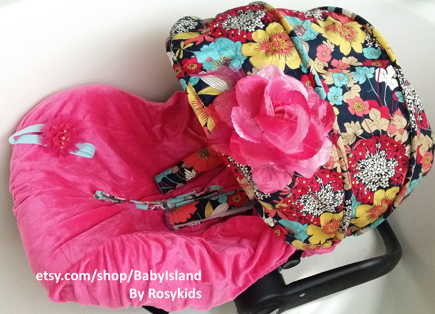 Baby Car Seat Cover Canopy Infant Car Seat Cover Canopy Floral