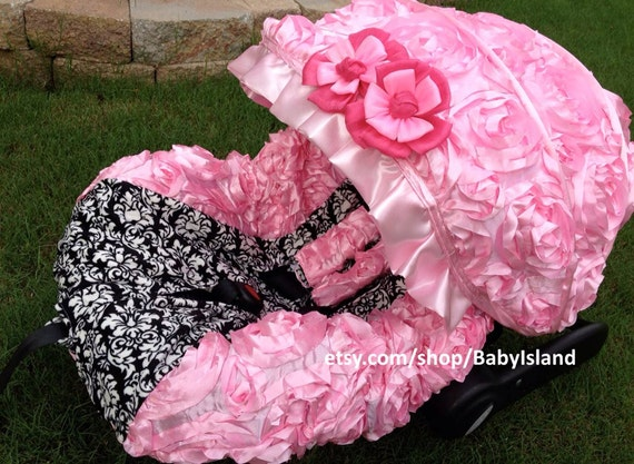 Baby Car Seat Cover Canopy Infant 3D