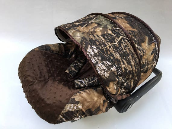 Off Boy Camouflage Military Infant Car, Camo Baby Car Seat Canopy
