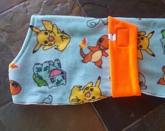 Dog Pyjamas Poke Comic/Orange 65cm Medium