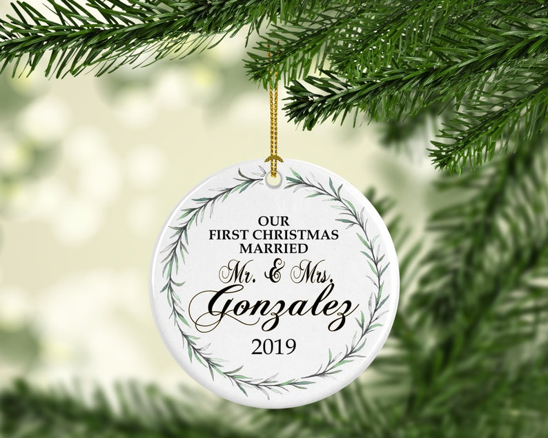 Personalized Christmas ornaments Christmas Ornaments image 0