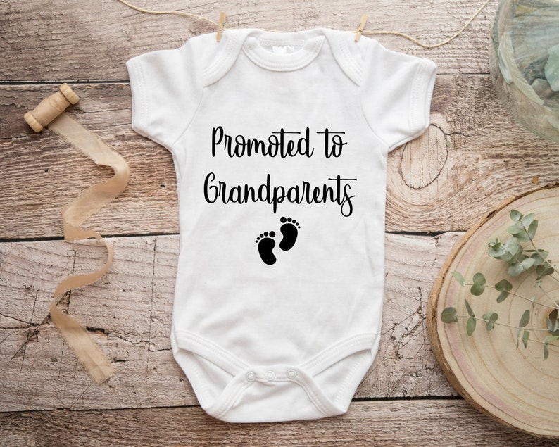 Promoted to Great Grandparents Pregnancy Announcement image 0