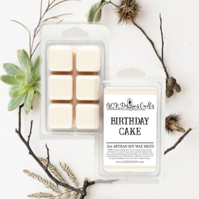 Birthday Cake Scent Soy Wax Melt Wax Melt For Candle image 0
