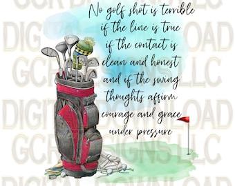 Golf Prayer, Sublimation Printable, Golfer Prints, Golfing, Instant Download, Printable, Towel Sublimation, Graphic, Clipart, License Incl'd