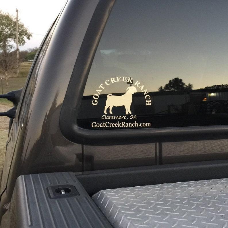 Vinyl Decal Custom Window Car Truck Decal Car Sticker Vinyl image 0