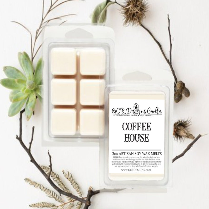 Coffee House Coffee Scent Soy Wax Melt Wax Melt For Candle image 0