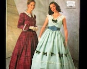 Items Similar To Civil War Southern Belle Dress Pattern Simplicity