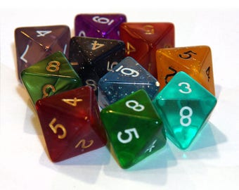 8 Sided Dice - Assorted