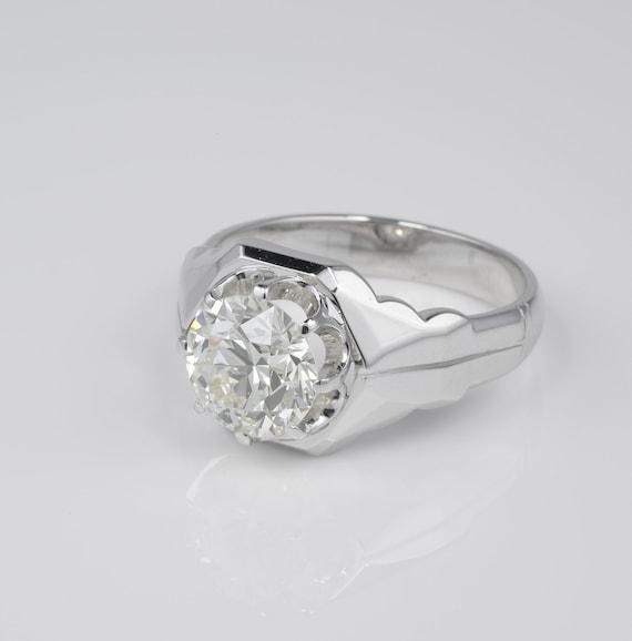 Magnificent 3.10 Ct Old Brilliant cut Diamond Sol… - image 4