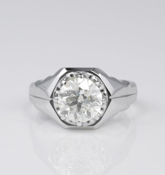 Magnificent 3.10 Ct Old Brilliant cut Diamond Sol… - image 1