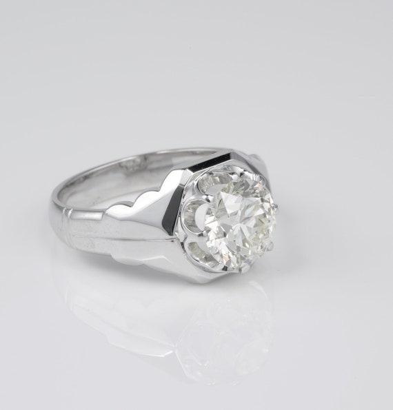 Magnificent 3.10 Ct Old Brilliant cut Diamond Sol… - image 3