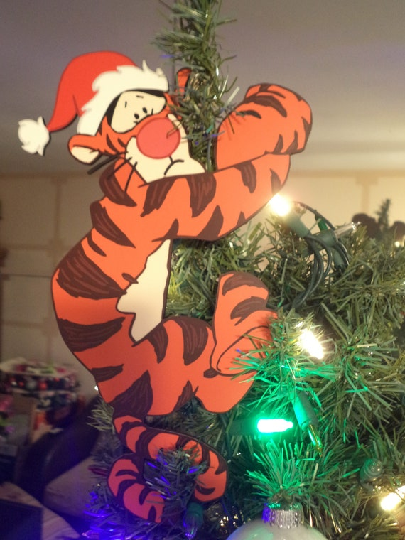 Terrified Tigger-ific Tree Topper | Etsy
